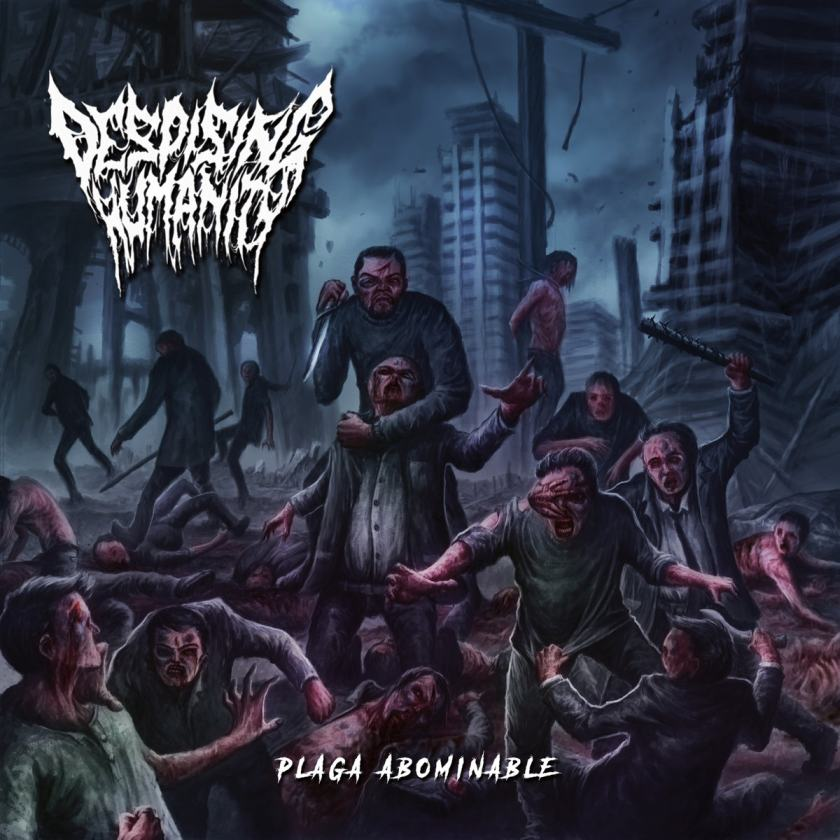 Despising Humanity- Plaga Abominable CD on Putrid Tomb Rec.