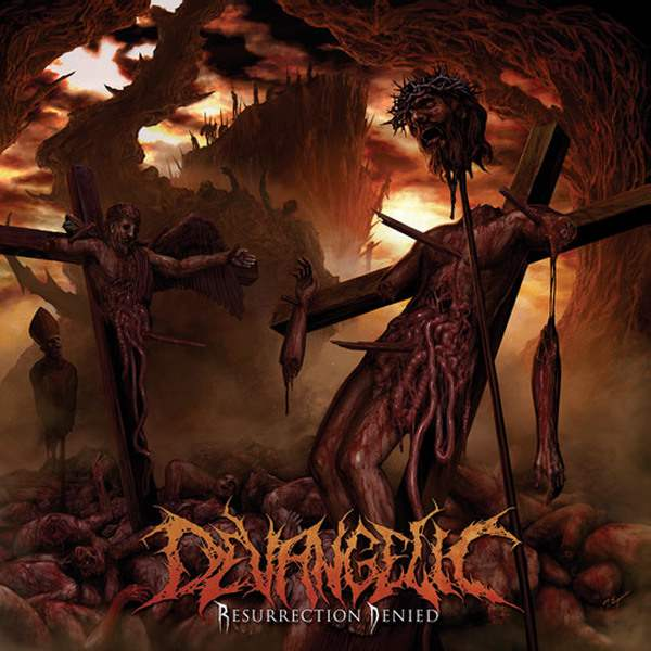 Devangelic- Resurrection Denied CD on Comatose Music