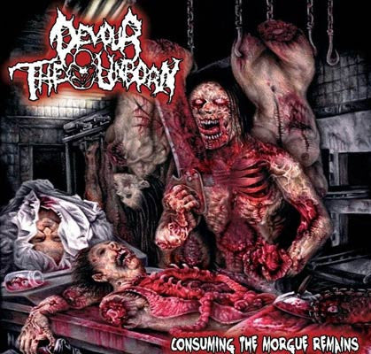 Devour The Unborn- Consuming The Morgue Remains CD on Amputated