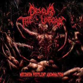 Devour The Unborn- Meconium Pestilent Abomination CD on Amputated Vein Rec.