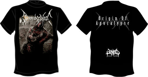 DIMINISHED- Origin Of Apocalypse T-SHIRT SMALL