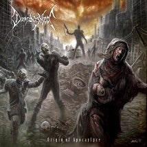 DIMINISHED- Origin Of Apocalypse CD on Sevared Rec.