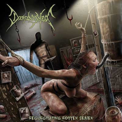 DIMINISHED- Regurgitating Rotten Semen CD on SEVARED REC.