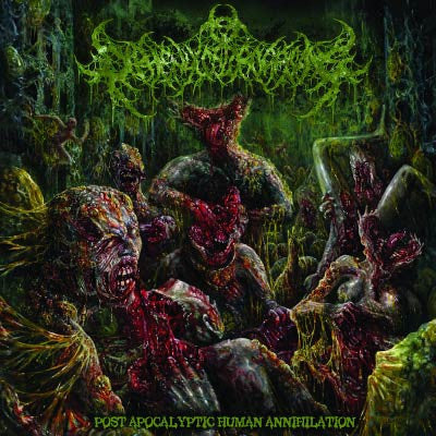 Diphenylchloroarsine- Post Apocalyptic Human Annihilation CD on Rotten Music