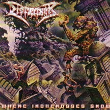 Dismember- Where Ironcrosses Grow CD on Hammerheart Rec.