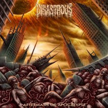 DISASTROUS- Aftermath Of The Apocalypse CD on Sevared Rec.