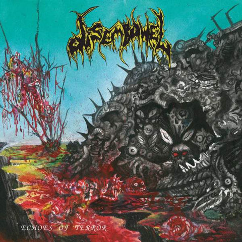 Disembowel- Echoes Of Terror CD on Maggot Stomp