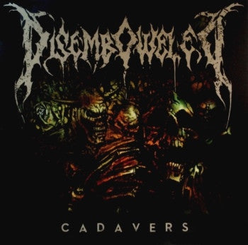 Disemboweled- Cadavers CD on Nice To Eat You Records