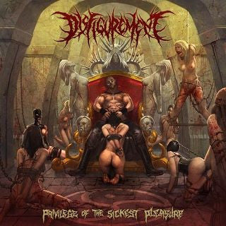 Disfigurement- Privilege Of The Sickest Pleasure CD on Anopsys R