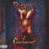 Disgust- Crucif*cked CD on Gravestone Music