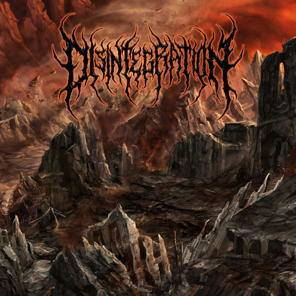 Disintegration- S/T CD on Brutal Mind