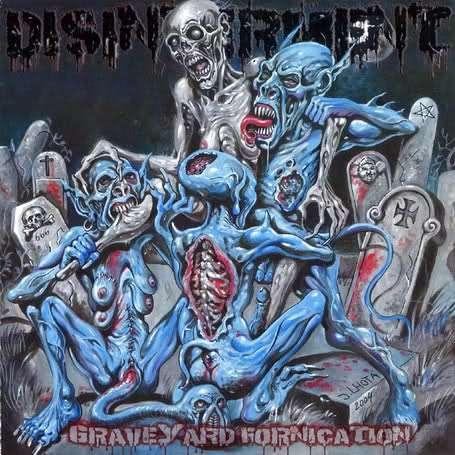 Disinterment- Graveyard Fornication CD on NTEY