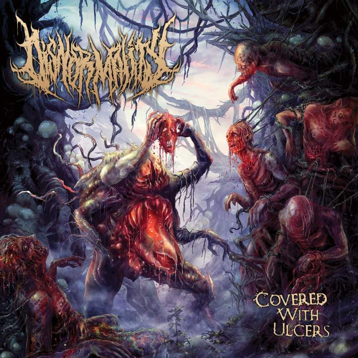 Disnormality- Covered With Ulcers CD on Inherited Suffering Rec.