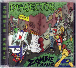 Dissector- Zombie Panic CD on Obscenity Cult Rec.