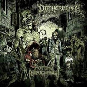 DITCHCREEPER- Rotting Repugnancy CD on P.E.R.