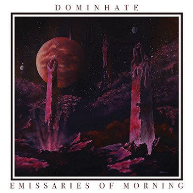 Dominhate- Emissaries Of Morning CD on Lavadome Prod.