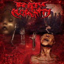 DEATH OF AUTHORITY- Drowned In Blood CD on No Label Rec.