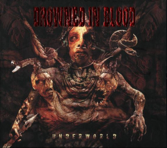 Drowned In Blood- Underworld DIGI-CD on American Line Prod.