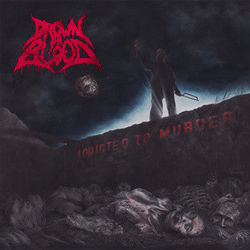 Drown In Blood- Addicted To Murder CD on Earthquake Terror Noise Rec.