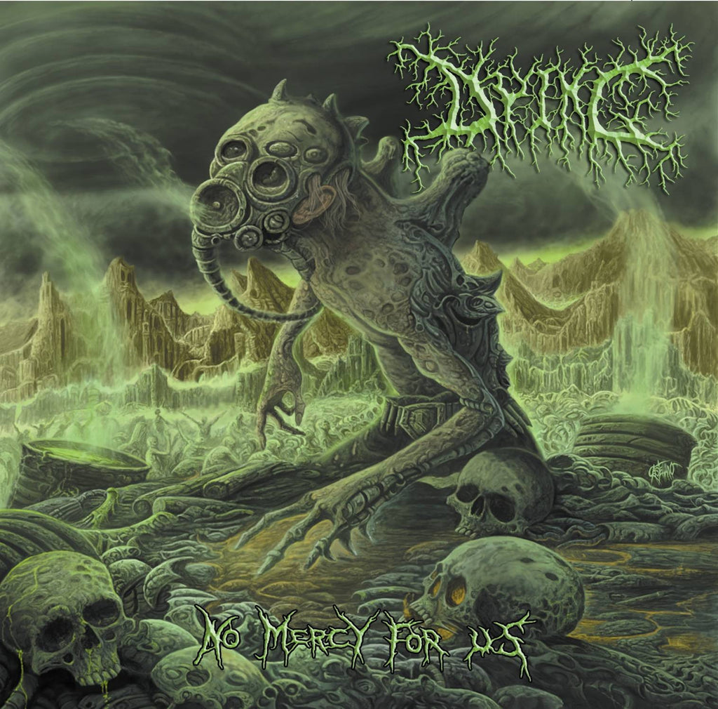 DYING- No Mercy For Us CD on Sevared Records OUT NOW!!!