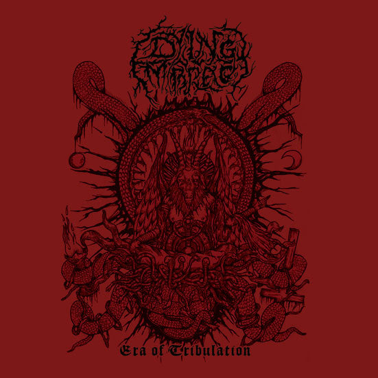 Dying Embrace- Era Of Tribulation CD on Armee De La Mort Rec.