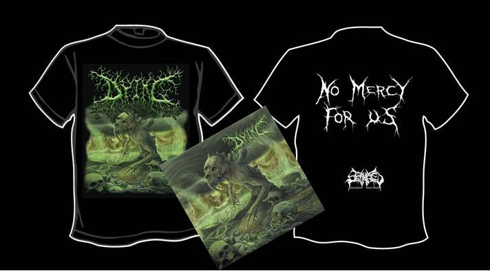 DYING- No Mercy For Us CD / T-SHIRT PACKAGE M-XL OUT NOW!!!