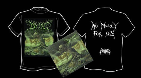 DYING- No Mercy For Us CD / T-SHIRT PACKAGE S-XXL OUT NOW!!!