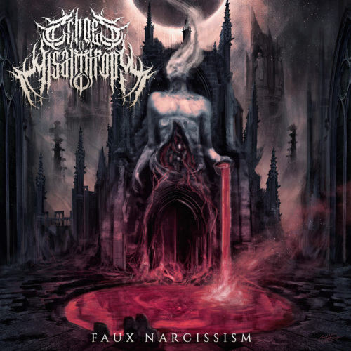 Echoes Of Misanthropy- Faux Narcissism CD on Reality Fade Rec.