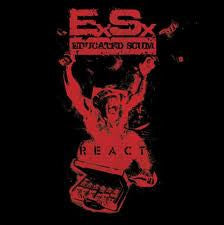 Educated Scum- React CD on Musica Rec.