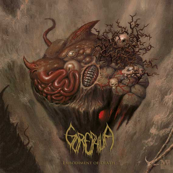 Gorephilia- Embodiment Of Death CD on Dark Descent Rec.