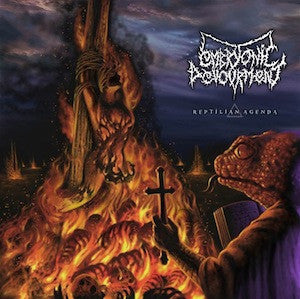 Embryonic Devourment- Reptilian Agenda CD on Deepsend Rec.