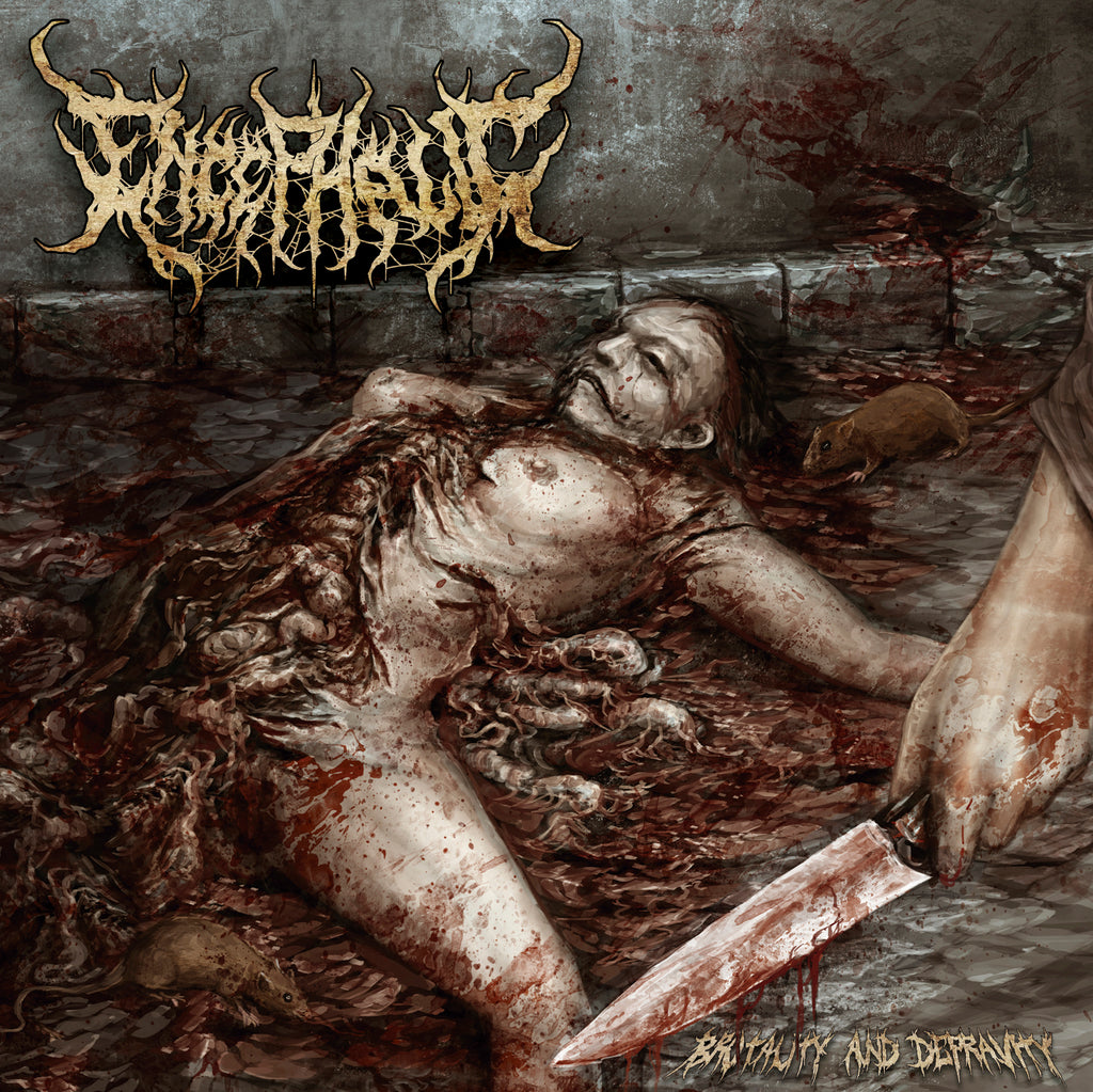 ENCEPHALIC- Brutality And Depravity CD on Sevared Records OUT NOW!!!