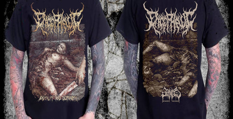 ENCEPHALIC- Brutality & Depravity T-SHIRT S-XL OUT NOW!!!