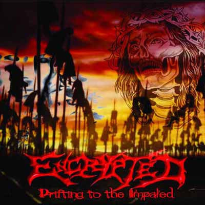Encrypted- Drifting To The Impaled CD on Lord Of The Sick Rec.