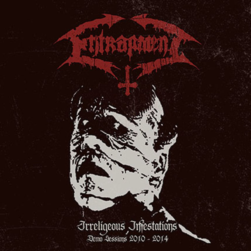 Entrapment- Irreligious Infestation (Demo Sessions 2010-2014) CD on Godeater Rec.