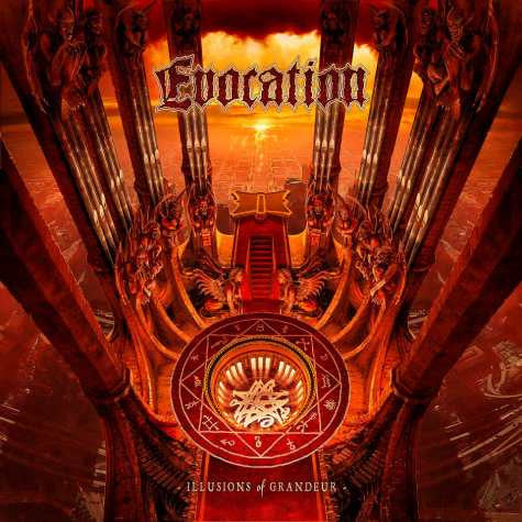 "Evocation- Illusions Of Grandeur 12"" LP VINYL on Century Media"