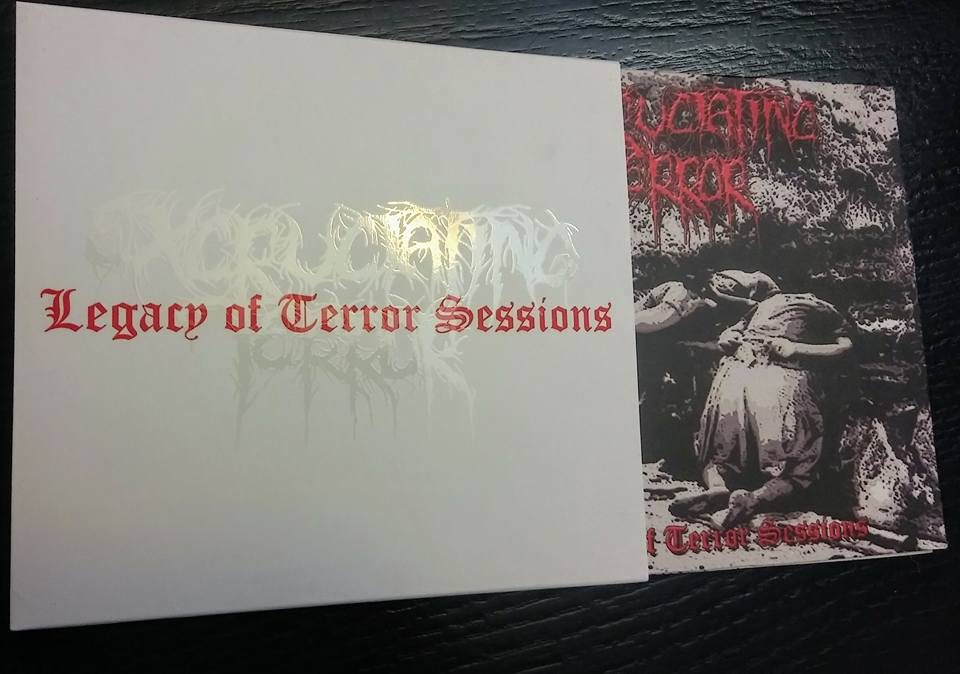 Excruciating Terror- Legacy Of Terror Sessions DIGI-CD on Mierda Prod.
