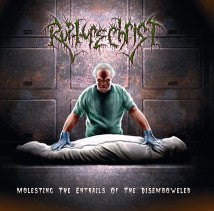 RUPTURE CHRIST- Molesting THe Entrails.. CD on SEVARED REC.