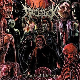 Facefuck- Throes Of Lament CD on Rotten Music