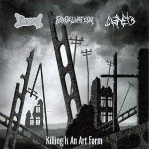 FAECES / FLAGELLATION / DENEB - Killing Is An Art Form SPLIT CD