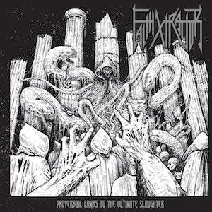 Faithxtractor- Proverbial Lambs To The Ultimate Slaughter CD on Hells Headbangers