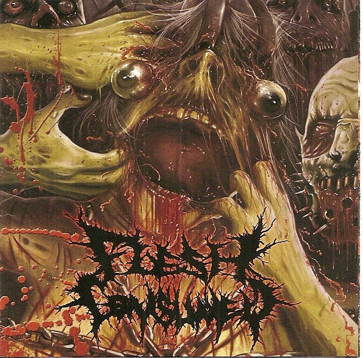FLESH CONSUMED- ...Mutilate, Eviscerate, Decapitate.. CD on Obscure / Sevared Rec.