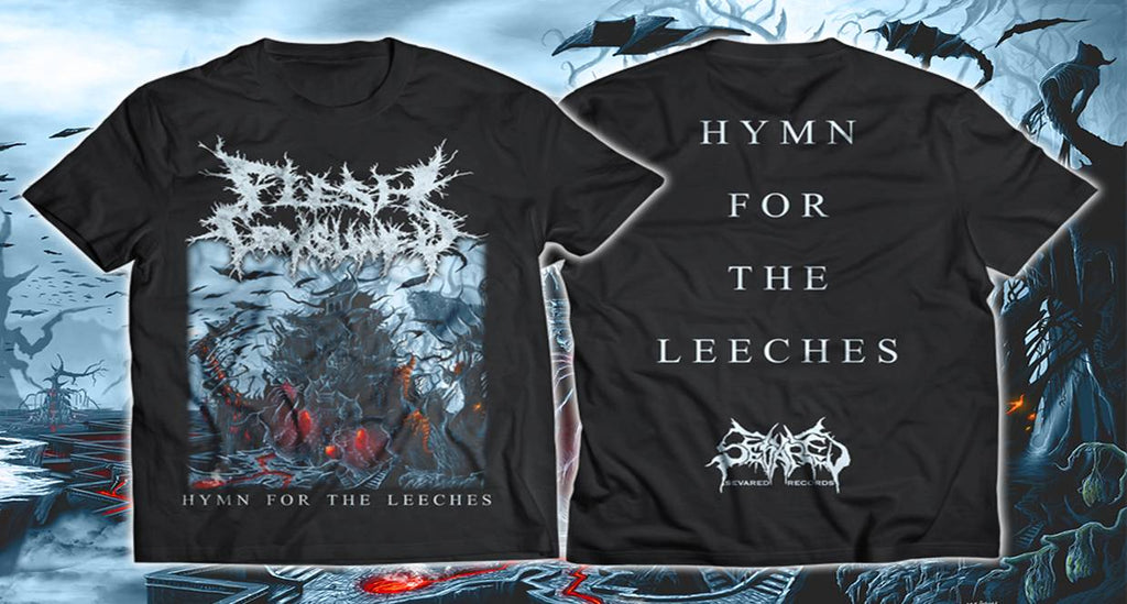 FLESH CONSUMED- Hymn For The Leeches T-SHIRT S-XXL