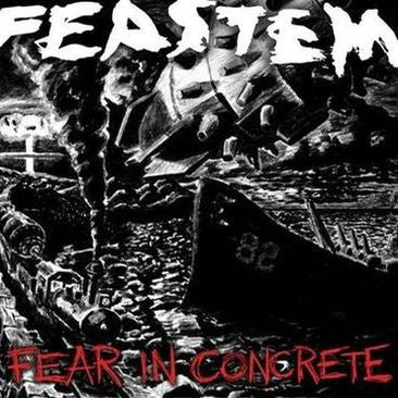 Feastem- Fear In Concrete CD on Obscene Prod.