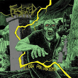 Festered- Flesh Perversion CD on Razorback Records