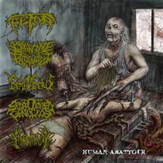 Fetor / Cranial Blowout / Feto In Fetus / Splattered Genocide / Goremitory- Split CD on Rotten Music