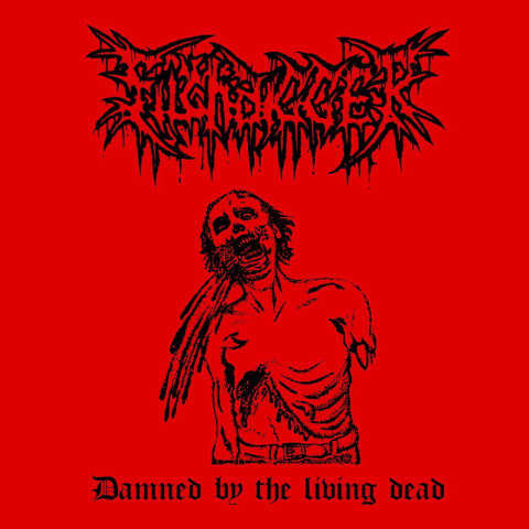 Filthdigger- Damned By The Living Dead CD on Cavernous Rec.