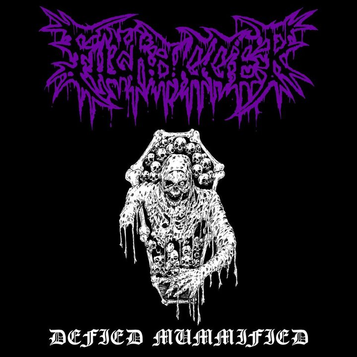 Filthdigger- Defied Mummified CD on Cavernous Rec.