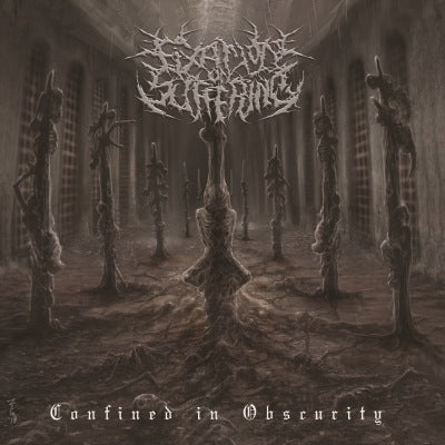 Fixation On Suffering- Confined In Obscurity CD on P.E.R.