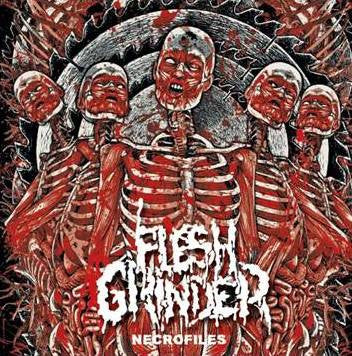 "Flesh Grinder- Necrofiles 7"" EP VINYL on BHP"